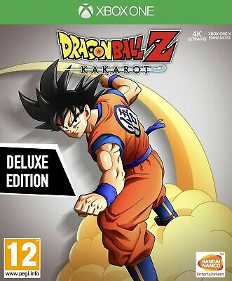 Dragon Ball Z Kakarot Deluxe Edition Disc (Xbox One)