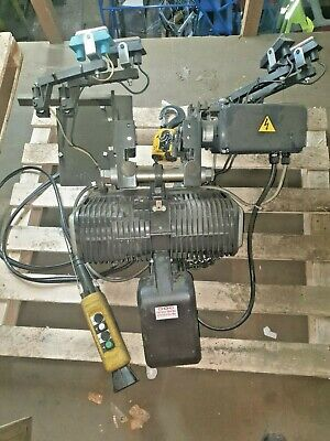 electric hoist with power trolley 1500 kg
