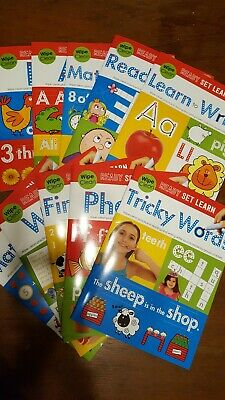 Early Years Ready Set Learn Wipe Clean Workbook Collection Fine Motor Skills