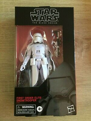 Star Wars The Black Series Target Exclusive First Order Elite Snowtrooper