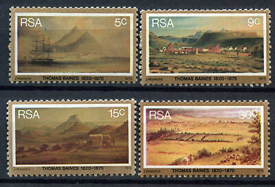 South Africa 1975 SG#379-382 Thomas Baines Painter MNH Set #E9311