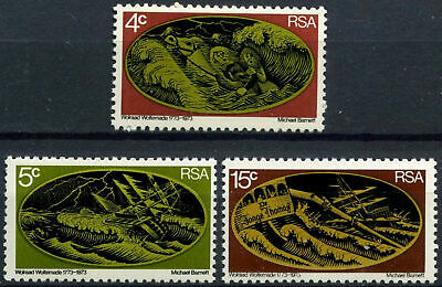 South Africa 1973 SG#332-4 Wolraad Woltemade MNH Set #E9260