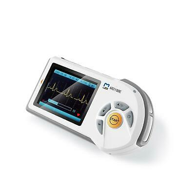 ChoiceMMed MD100E Colour Handheld ECG Heart Monitor Deluxe Set