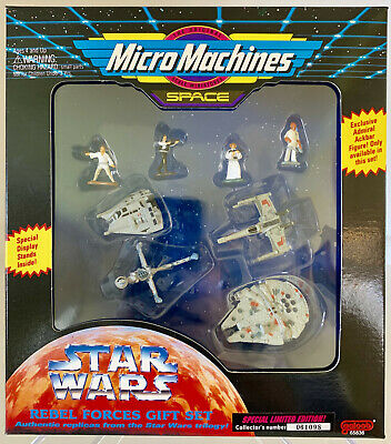 FREE SHIPPING * Micro Machines Star Wars Space Rebel Gift Set   MISB