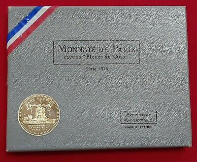 1973 France Mint Set of 8 Coins With Hercules Silver 10 Franc with COA /& OGP