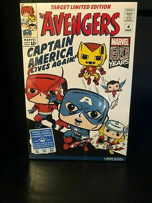 FUNKO POP TEES! Marvel 80th Avengers Target Exclusive T-Shirt Size Med-XL
