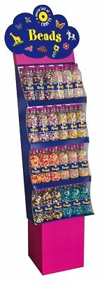 PBX2456009 - *Playbox - Bead display - complete with 72 bottles