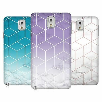 Official Nature Magick Metallic Geometric Cube Marble Case For Samsung Phones 2