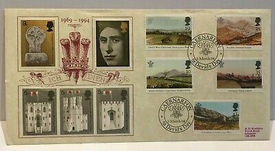 GB FDC  1994 PRINCE CHARLES PAINTINGS  No 87 of 500
