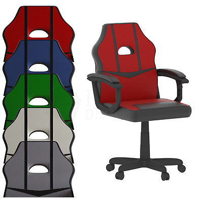 Racing Gaming Office Chair Executive Swivel Home Leather Sport Computer Desk