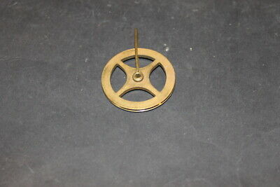 Brass Clock Wheel Pulley  40mm Diam