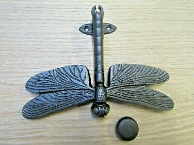 DRAGONFLY DOOR KNOCKER cast iron rustic vintage country cottage