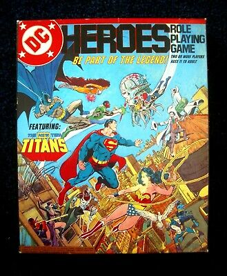DC Heroes In Hot Pursuit Game Adventure Mayfair Games 1990 NEW UNOPENED SEALED