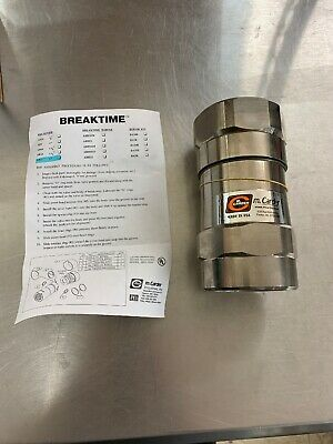 "M Carder 2"" Fuel Breakaway BREAKTIME Coupling AB2"
