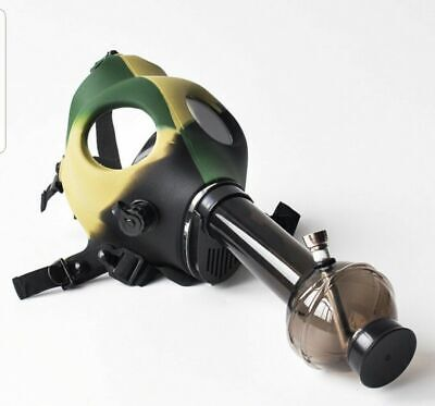 Gas Mask Bong Silicon Smoking Solid Hookah USA Seller
