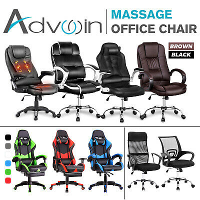 Gaming Office Chair Racer Executive Recline Computer Chair Racing Seat 7 Types