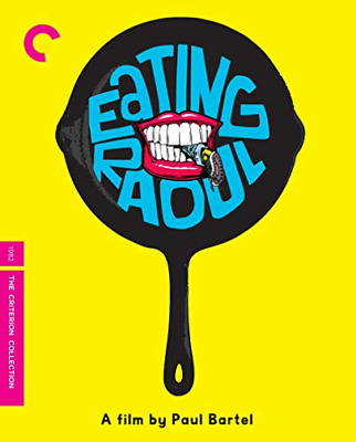 Eating Raoul The Criterion Collection BLU-RAY NUOVO