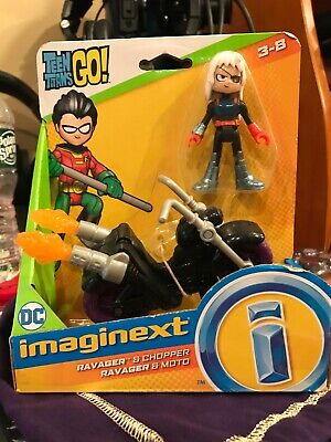 Fisher Price Imaginext Teen Titans Go! RAVAGER & CHOPPER BRAND NEW FREE SHIPPING