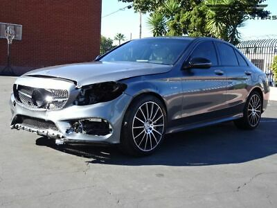 2018 Mercedes-Benz C-Class AMG C 43 2018 Mercedes-Benz C-Class Salvage Damaged Vehicle! Priced To Sell! Wont Last!