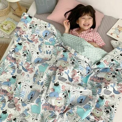 Baby Cotton Thick Super Soft Flannel Blanket Newborn Toddler Gift Baby Cover New