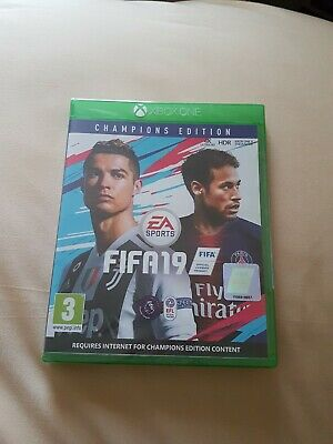 Xbox One Fifa 19 Champions Edition Fifa 19 game New and sealed uk pal version