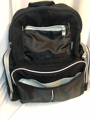 Graco Backpack Diaper Bag w/ Lots Of Storage Used Condition