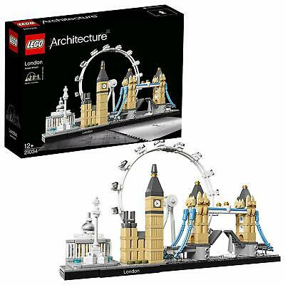 LEGO Architecture London 21034 Brand New Free Shipping 468 Pieces Ages 12+