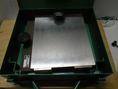 Mahr Federal TE-10 Machinist Inspection Level Leveling Table MW71