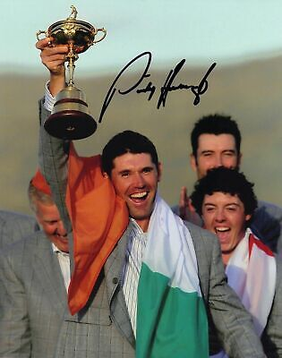 """EUROPE 2014 RYDER CUP WINNING TEAM Signed Autograph PRINT 6x4/"""" Gift"""