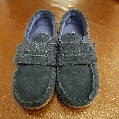 107 Next Boys Blue Suede Shoes Loafers - Kids Size 11 Immaculate condition