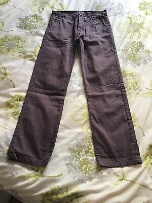 Boys Chino Style Trousers 11-12 Years (NEIL)