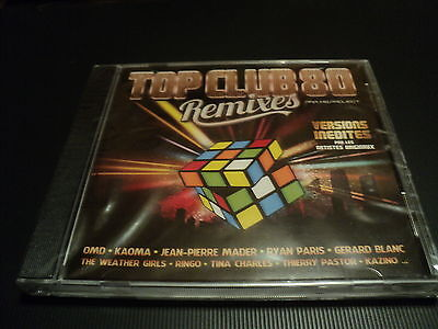 "CD NEUF ""TOP CLUB 80 - REMIXES"" Ken LASZLO, Thierry PASTOR, Jean-Pierre MADER, ."