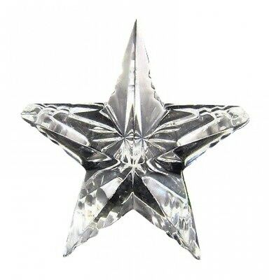 Waterford Crystal Star Paperweight MADE IN IRELAND NEW IN THE BOX
