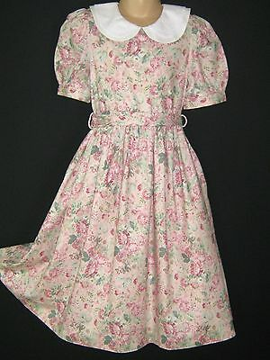 Laura Ashley Vintage Mother&Child Rose Daisy Bouquet Summer/Party Dress, 6 Yrs
