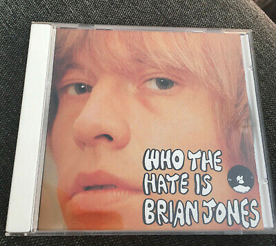 Rolling Stones: Who the hate is Brian Jones (Shaved Fish CD) EX