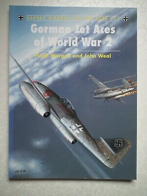 German Jet Aces of World War 2 (Osprey Aircraft of the Aces 17)