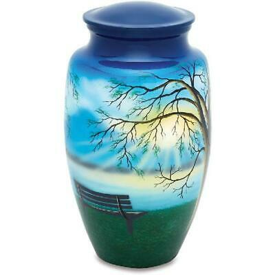 Urnsdirect2U Lakeside View Adult Cremation Urn, 220 Cu In