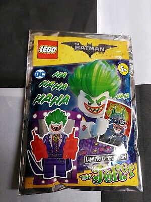 The Lego Batman Movie The Joker Minifigure Limited Edition