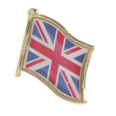 Union Jack Metal Pin Badge Great Britain Flag Button Badge Pin-Back Badge