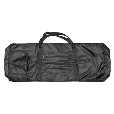 Oxford Fabric 61 Keys Electronic Organ Keyboard Piano Case w. Side Bag - 1M