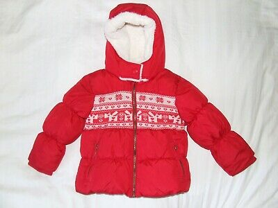 Girls Next red jacket age 3-4 years unused condition