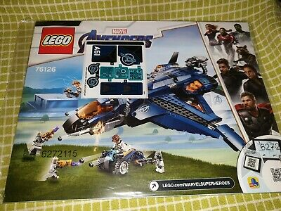 Lego Marvel Super Heroes Avengers Ultimate Quinjet(76126) BUILD ONLY NO MINIFIGS