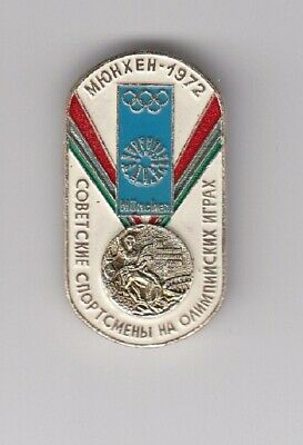 pin badge from 1980 USSR Olympic team Olympics Games MUNCHEN 1972 72 Germany