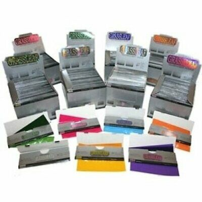 ULTRA thin King Size Grassleaf Transparent Rolling Papers *Cheapest on eBay*