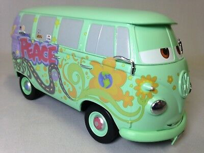 Disney Pixar Cars Movie Fabric Iron On Appliqués style #14 Fillmore VW Bus van