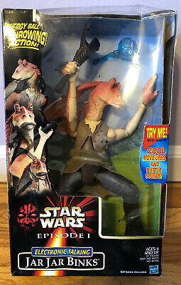 "Star Wars Episode 1 Jar Jar Binks Kitchen Refrigerator Magnet 3 1//2/"" Tall"