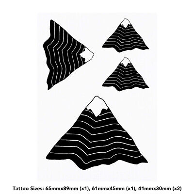 'Mountain' Temporary Tattoos (TO001040)