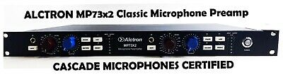 Alctron MP73x2 Classic Microphone Preamp