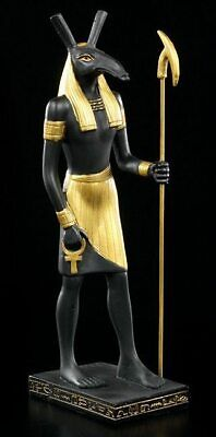 Seth Egyptian god of chaos, fire,deserts, trickery,envy, disorder, violence.Rare