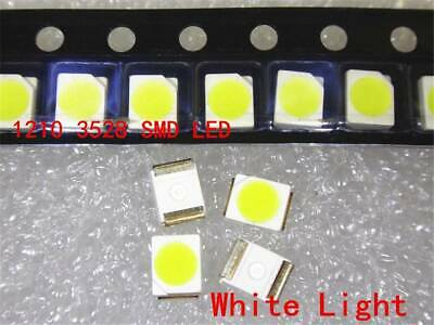 5 x LED PLCC2 1210 3528 Yellow Gold SMD LEDs Super Ultra Bright Gauge PLCC-2